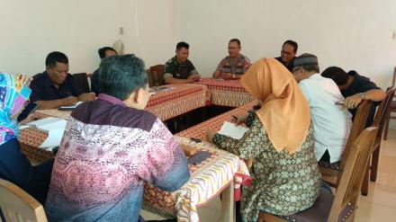 Rapat Koordinasi Sambut Lomba Desa