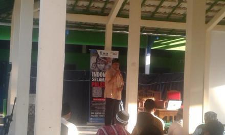 Syeh Abdulah El Najjar Hadiri Pengajian Buka Puasa di Masjid Al Izza Krapakan