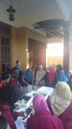 Pelatihan Pembibitan Sayuran Kangkung dan Pakcoy RT 117 dan 118 Dusun Cagunan