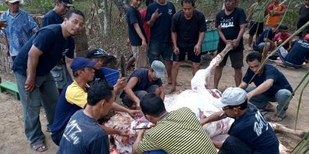 Perayaan Idul Adha di Dusun Cagunan