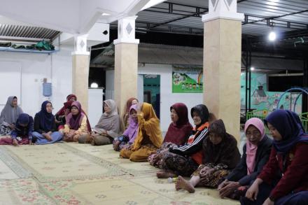 Malam Tirakatan Dusun Cagunan Menyambut Hari Ulang Tahun Ke-74 Republik Indonesia