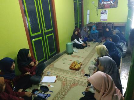 Posyandu Remaja Dusun X Pedak