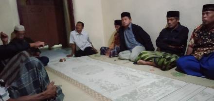 Rapat Koordinasi Paguyuban Seni Reog Bekso Lelono Jelang Kirab Hari Jadi Desa Trimurti