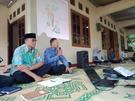 Lurah Desa Trimurti Hadiri Sosialisasi PSN Mandiri di Kampung Paten
