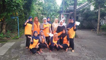 Cegah Mewabahnya Kasus DBD di Desa Trimurti Kader Jumantik Dusun Lopati Gerakan PSN Mandiri