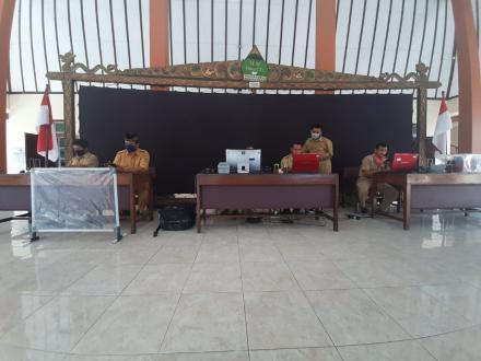 Maksimalkan Perekaman E-KTP Disdukcapil Kabupaten Bantul Sambangi Desa Trimurti