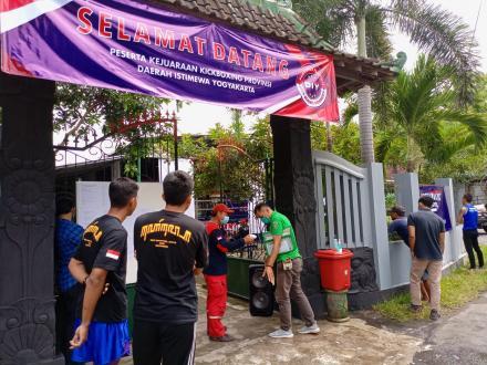 Kejuaraan Kick Boxing DIY Gelar di Kalurahan Trimurti