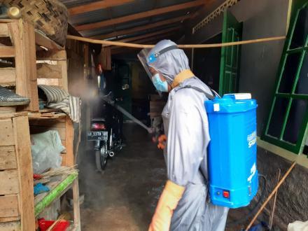 Satgas Dusun Bersama FPRB Trimurti Bangkit Minimalisasi Penularan Covid 19