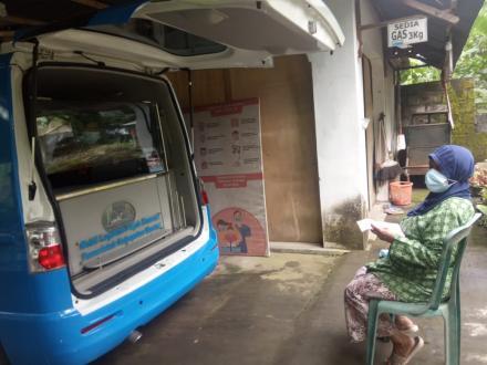 Pelayanan Mobil Keliling Mudahkan Wajib Pajak PBB Kalurahan Trimurti