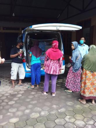 Pelayanan Mobil Keliling PBB di Dusun Cagunan, Mangiran, dan Sapuangin
