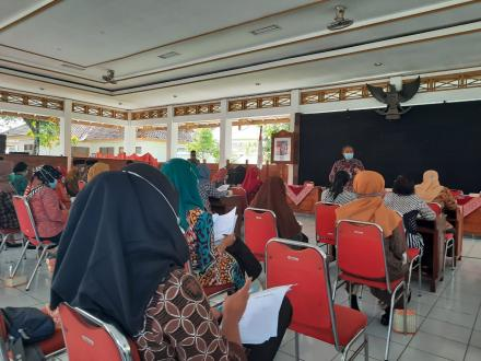 Peningkatan Kapasitas Pengurus LKD Kalurahan Trimurti