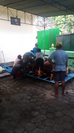 Pelaksanaan Kurban di Masjid Jabal Nur Gunungsaren Lor