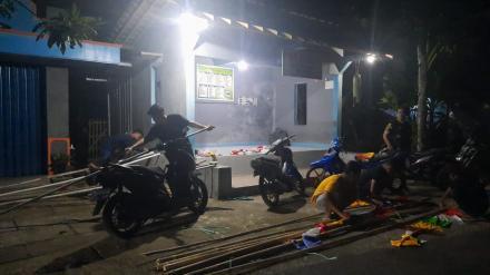 Pemuda Dusun Pedak Semarakan HUT RI Ke - 76