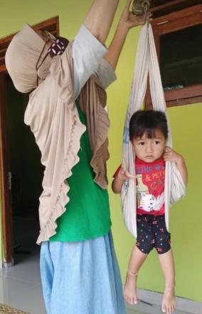 Pelaksanaan Posyandu di Dusun Gunungsaren Lor