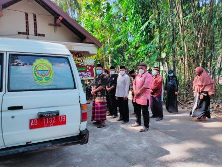 Pemakaman Protokoler di Dusun Cagunan