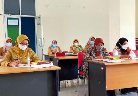 Persiapan Lomba Posyandu Tingkat Provinsi