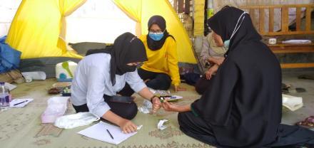 Pos Pelayanan Terpadu (Posyandu) Dusun Pedak di Era New Normal
