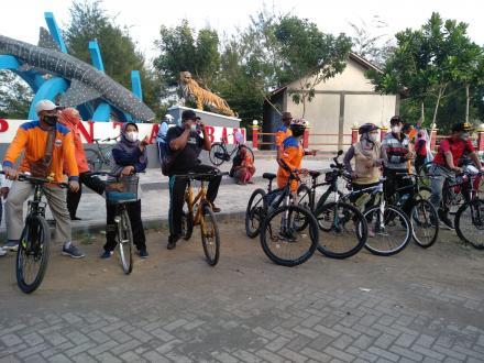Sepeda Santai FPRB Bersama Panewu Srandakan dan Lurah Trimurti