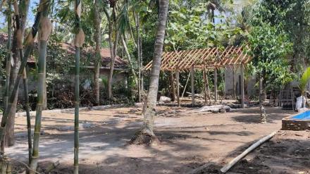 Pembuatan Taman Toga