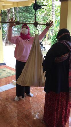 Monitoring Kegaiatan Posyandu di Dusun Jetis